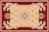 Patrón de la flor de cristal pulido azulejos alfombras de Baldosa Cerámica de 1200x1800mm (BMP67)