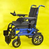 페이지 관제사를 가진 전력 휠체어를 접히는 Tew005A 사치품