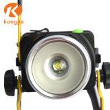 T6 de alta potencia LED de luz de trabajo al aire libre linterna recargable
