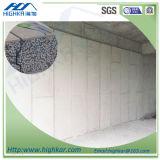 El panel de pared del panel de emparedado del EPS para la casa prefabricada del envase de la casa