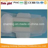 Almofadas super do guardanapo sanitário da absorção do uso da noite do dia