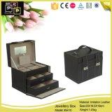 Caja de regalo de lujo de cuero Caja Joyero (5410)