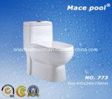 목욕탕 (8030)를 위한 물 저축 Siphonic 한 조각 옷장 세라믹 화장실