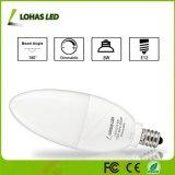 8W E12 E14 E27 B22 일광 5000K Dimmable LED 초 빛