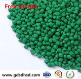 Grüne Farbe Masterbatch für Nahrungsmittelgrad mit Bescheinigung