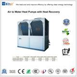 Modulare Rolle-Kompressor-Luft abgekühlter Wasser-Kühler mit inländischem Heißwasser