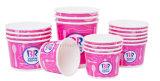 Personalizar desechables de la Copa de helados Helados recipiente con tapa