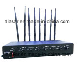 8bands 10W/Band POWER Adjustable Cellular GPS, WiFi and 5.8g Signal Jammer