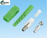 Inspektions-Simplexfaser-optischer Zopf Qualitäts-gelbe Faser Optik Sc-APC