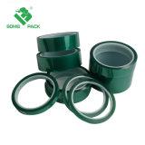 Pet verde cinta adhesiva cinta resistente a altas temperaturas