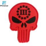 La muerte Ranger cráneo Punisher moral de goma suave Parche de PVC