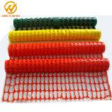Cerca plástica anaranjada de la barrera de seguridad de la talla de encargo