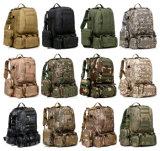 Bloco combinado de escalada de acampamento de caminhada Multifunction do saco da trouxa de 13 cores