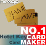 Cartão Rewritable do acesso da porta do hotel T5577 do plástico RFID 125kHz do preço do atacadista