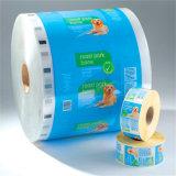 Kundenspezifischer Plastikrollenfilm-/Aluminiumfolie-Film für das Verpacken der Lebensmittel