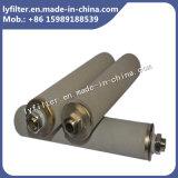 """2.5'' 5"""" 10"""" 20"""" Micropore porosidad de la sinterización cartucho de filtro de metal de titanio"""