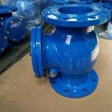 DIN bronze fundido sentado ou ferro dúctil da válvula de retenção do tipo de Giro