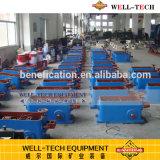 Tabelle d'agitazione bagnate per la separazione del minerale metallifero
