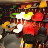 사무실 팔 의자 EMS 작풍 목제 다리 시트 고도를 식사하는 대양 색깔 18 인치 중앙 세기 현대 의자