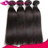 Роскошные бразильские человеческие волосы прямо 100% девственницы волос Unprocessed