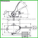 Fuss-Pedal-Beschleuniger-des Modell-Rjsq-001 Drossel-Pedal-Golf-Karren-Gas-Pedal der wilden Reichweiten-24-80V Halleffektder drossel-0-5V Drossel-des Fuss-EV