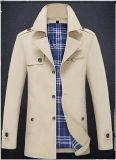 Migliore rivestimento del cotone di vendita 2017 per gli uomini in cappotto di svago