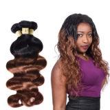 Commerce de gros vierge de Tissage de cheveux humains péruvien Hair Extension produits capillaires Jfy-015