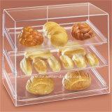 주문 아크릴 플라스틱 명확한 컵 케이크 상자