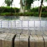 Hoja hueco protegida ULTRAVIOLETA del policarbonato de cuatro paredes para Sabic