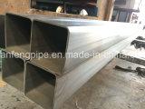 El material de construcción Q195/Q235 ERW soldó el tubo de acero de la estructura cuadrada/el tubo pre galvanizados