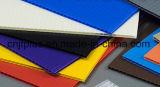 Пользовательский размер размер 2-12мм толщина гофрированный пластиковый лист для печати и пакет .