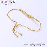 75337 Gold-Plated lujo Bisutería Pulsera de moda para mujer