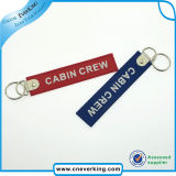卸し売りカスタム刺繍は飛行Keychainsの前に除去する