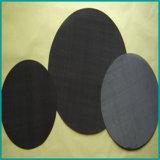 Maglia nera del filo di acciaio per filtrare