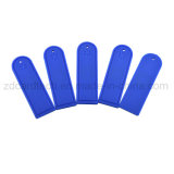 Etiqueta impermeable del silicón RFID de la gerencia del lavadero de la frecuencia ultraelevada