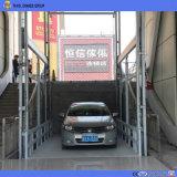 lift van de Lading van het Pakhuis van 6m de Hydraulische Verticale