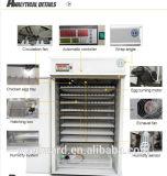 12672 ovos de incubação dos ovos industriais Automática do preço da máquina