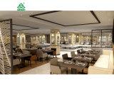 ドバイ椅子およびダイニングテーブルを食事する7組の星のホテルの食堂の家具セット
