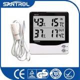 La température d'intérieur et extérieure et thermomètre d'humidité