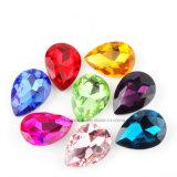 De Parels van het Glas van het Kristal van de traan richtten AchterBergkristallen (tp-127 traan 10*14mm)
