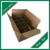 Heavy Duty vin Boîte d'emballage carton ondulé