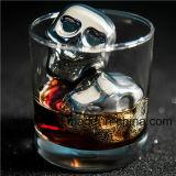飲料の飲み物のためのウィスキーの石、冷える再使用可能な角氷の鋼鉄およびワイン