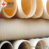 PVCはPVC-Uの排水の管から成っている純粋な原料を配管する