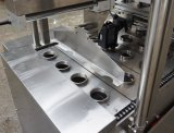Cuvette de remplissage automatique d'étanchéité pour les jus avec des particules de la machine