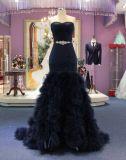 Vestido de noite do casamento da caraterística de Aoliweiya