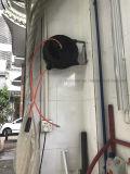 Carrete auto retractable montado en la pared del manguito de aire