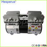 El compresor de aire sin aceite silencioso dental Oilless viaja en automóvili la unidad de la turbina
