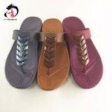 3 Flops Flip высоких пятки женщин PVC цвета