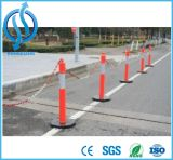 Poste de amarração superior do PE de T com tira reflexiva para a segurança da estrada