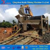 中国の金のトロンメルスクリーンの金の採鉱機械(KDTJ-200)